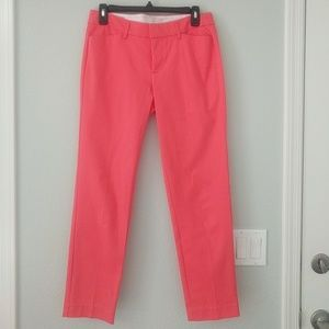 Stylus Coral Pant- Size 4 (NWOT)